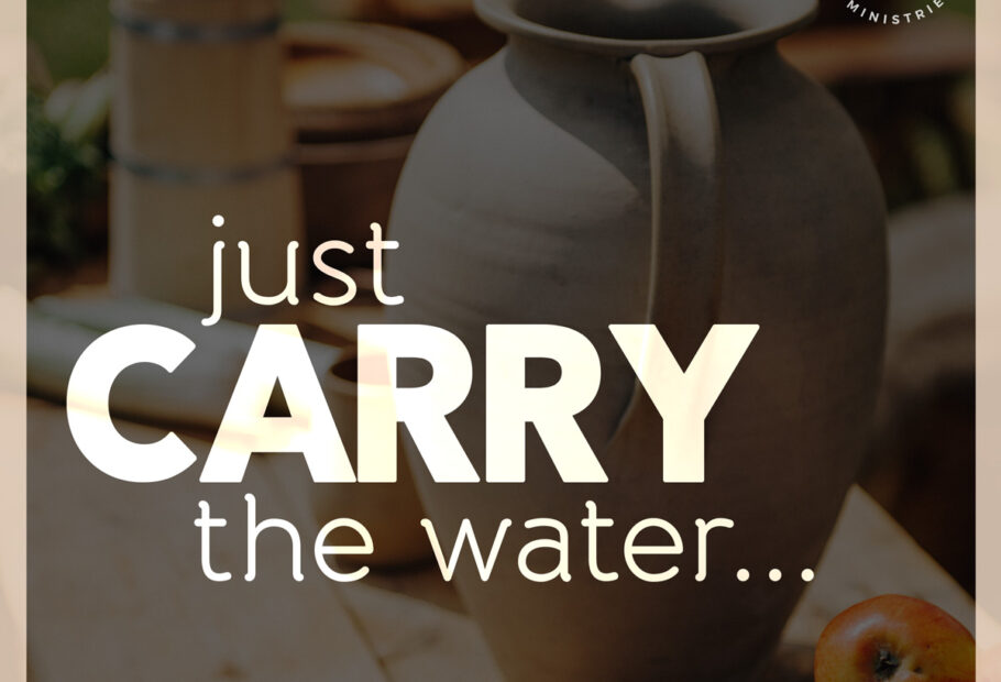 Just Carry The Water